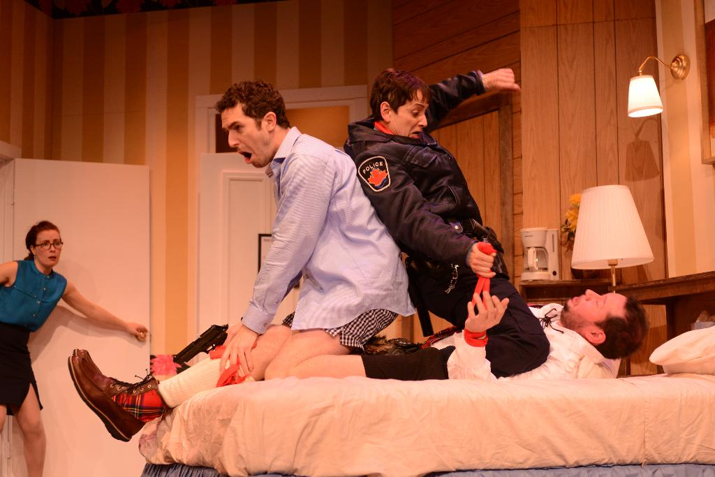 Unnecessary farce hams it up for Farcical comedy