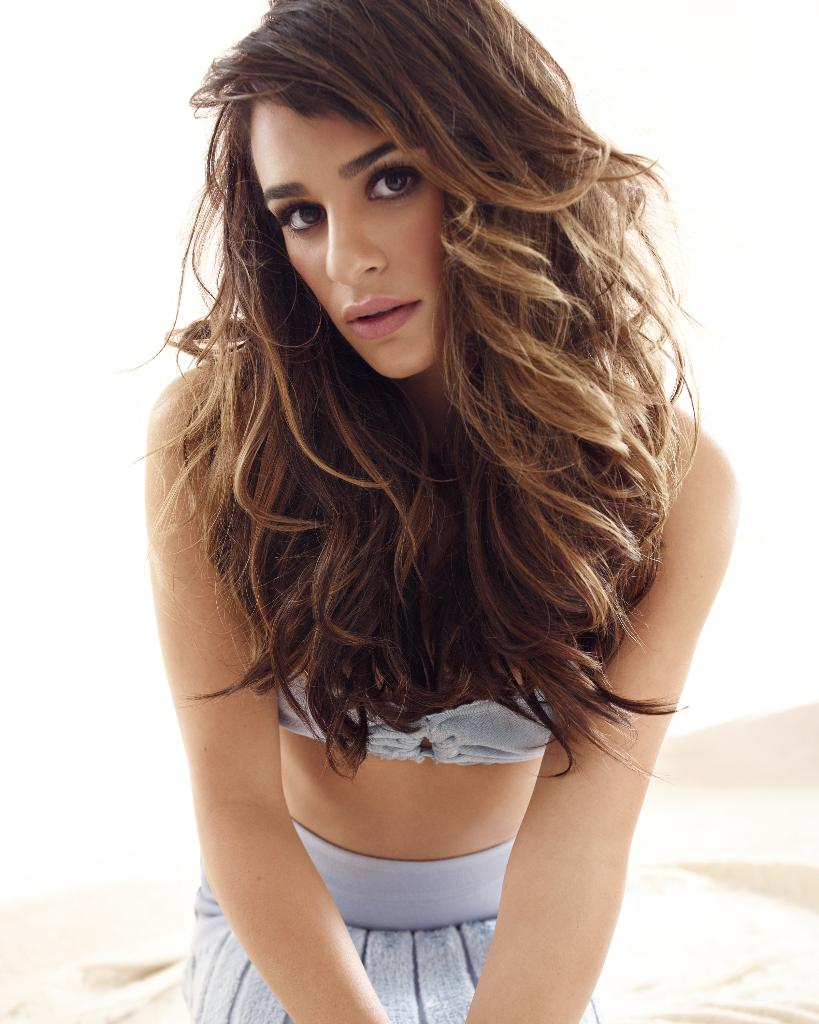 Heart spoken lea michele talks lesbian role on looking being called a diva - Lea michele diva ...