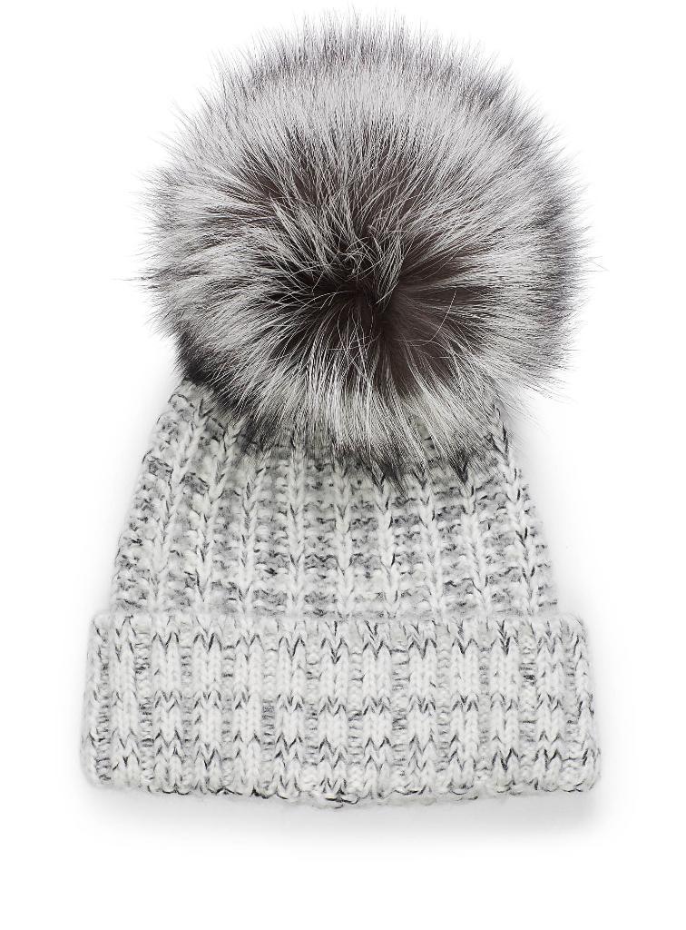 bade4fcf8f4 GayCalgary.com - REVIEW - Kyi Kyi Fox Fur Pom Pom Beanie  Warm ...