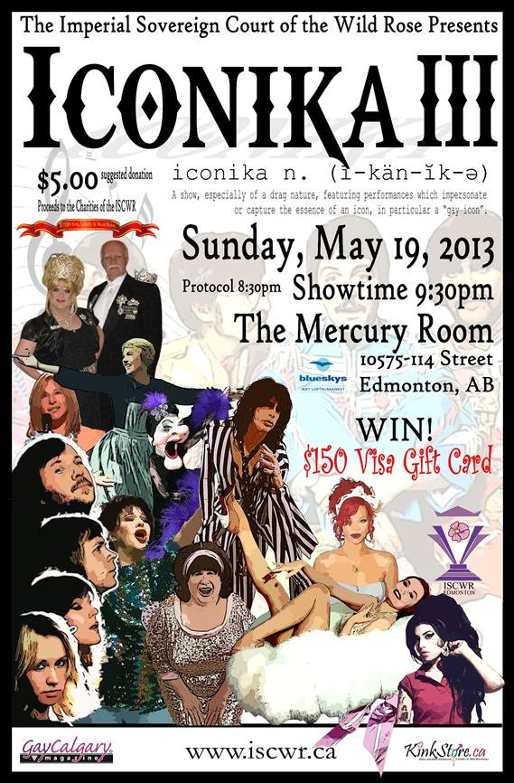 ISCWR: ICONIKA III (Edmonton, Sun May 19, 8:00PM)