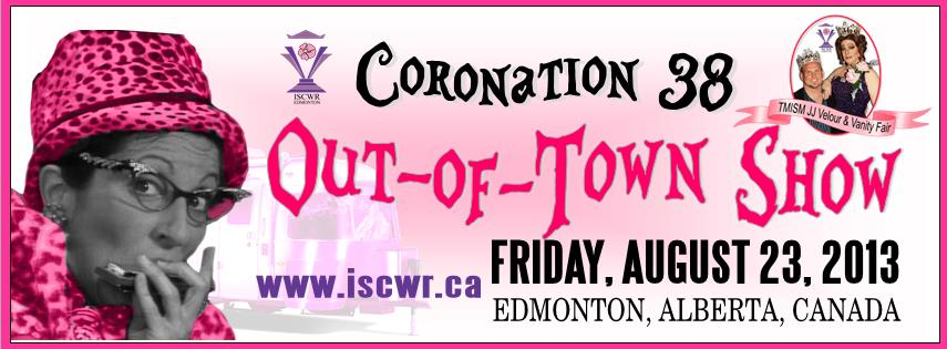 ISCWR: Out of Town Show (Edmonton, Fri Aug 23, 8:00PM)
