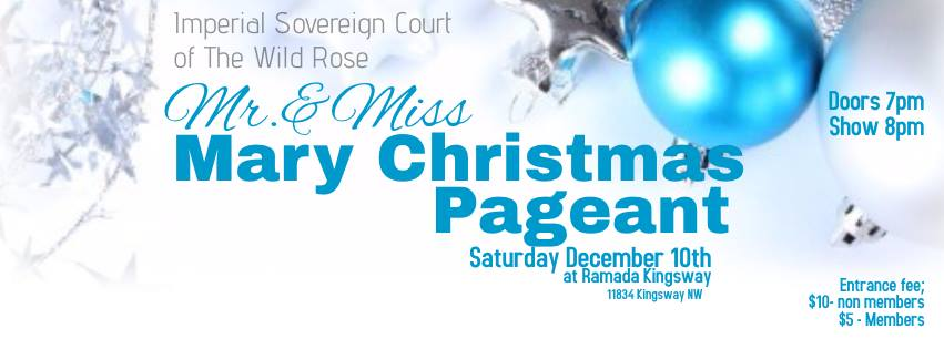 Mr & Miss Mary Christmas Pageant