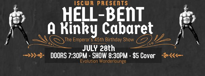 Hell-Bent (Edmonton, Fri Jul 28, 7:30PM)