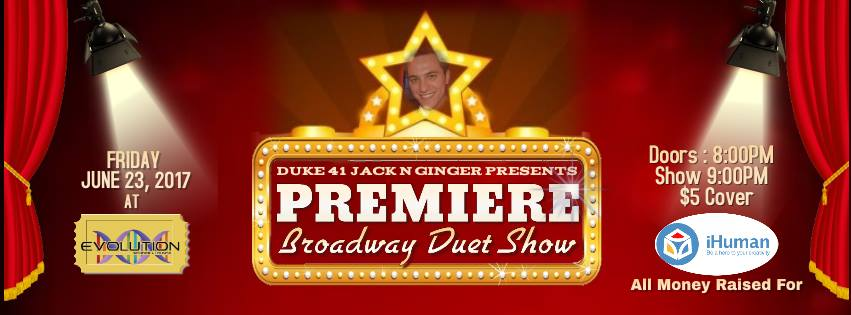 Premiere! A Broadway Duet Show (Edmonton, Fri Jun 23, 8:30PM)