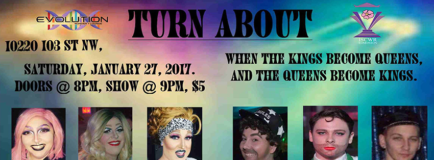 Turnabout (Edmonton, Sat Jan 27, 8:00PM)