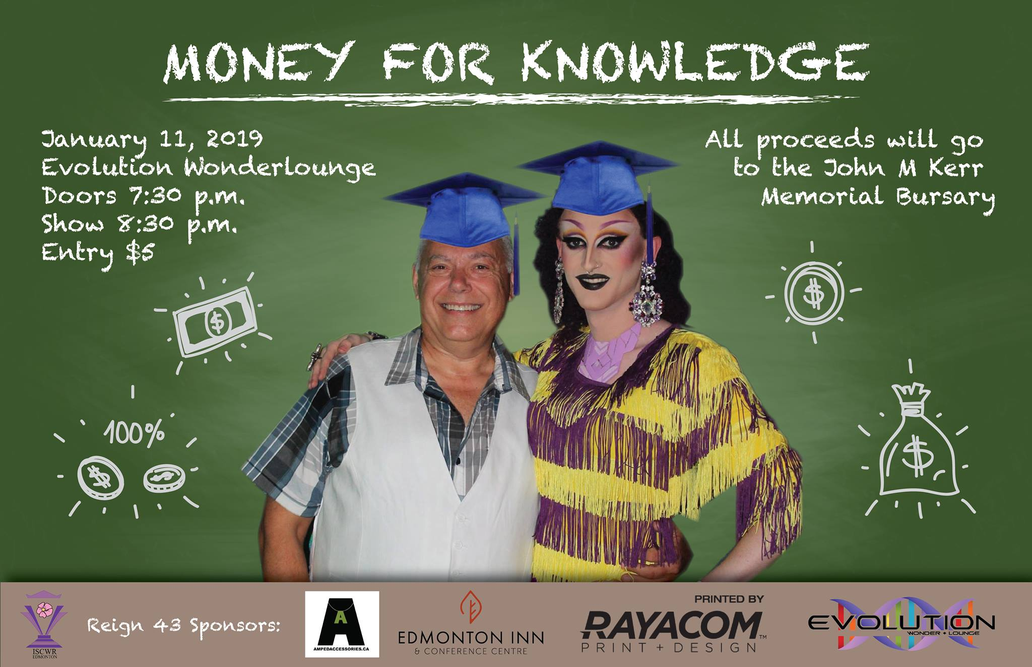 Money for Knowledge Show (Edmonton, Sat Jan 12, 7:30PM)