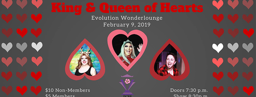King & Queen of Hearts Pageant (Edmonton, Sat Feb 9, 7:30PM)