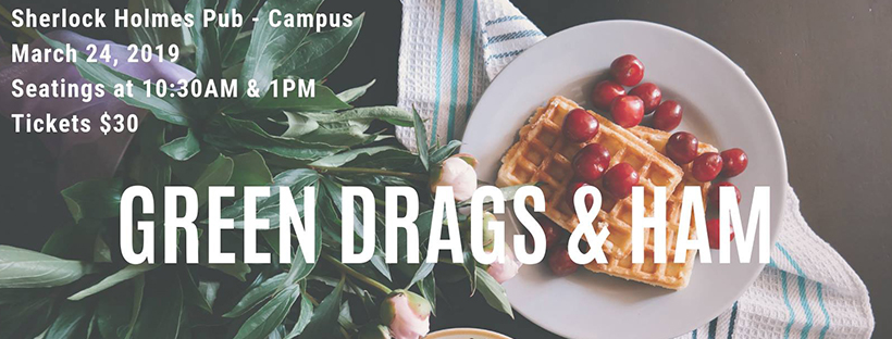 Green Drags & Ham - Drag Brunch (Edmonton, Sun Mar 24, 10:00AM)