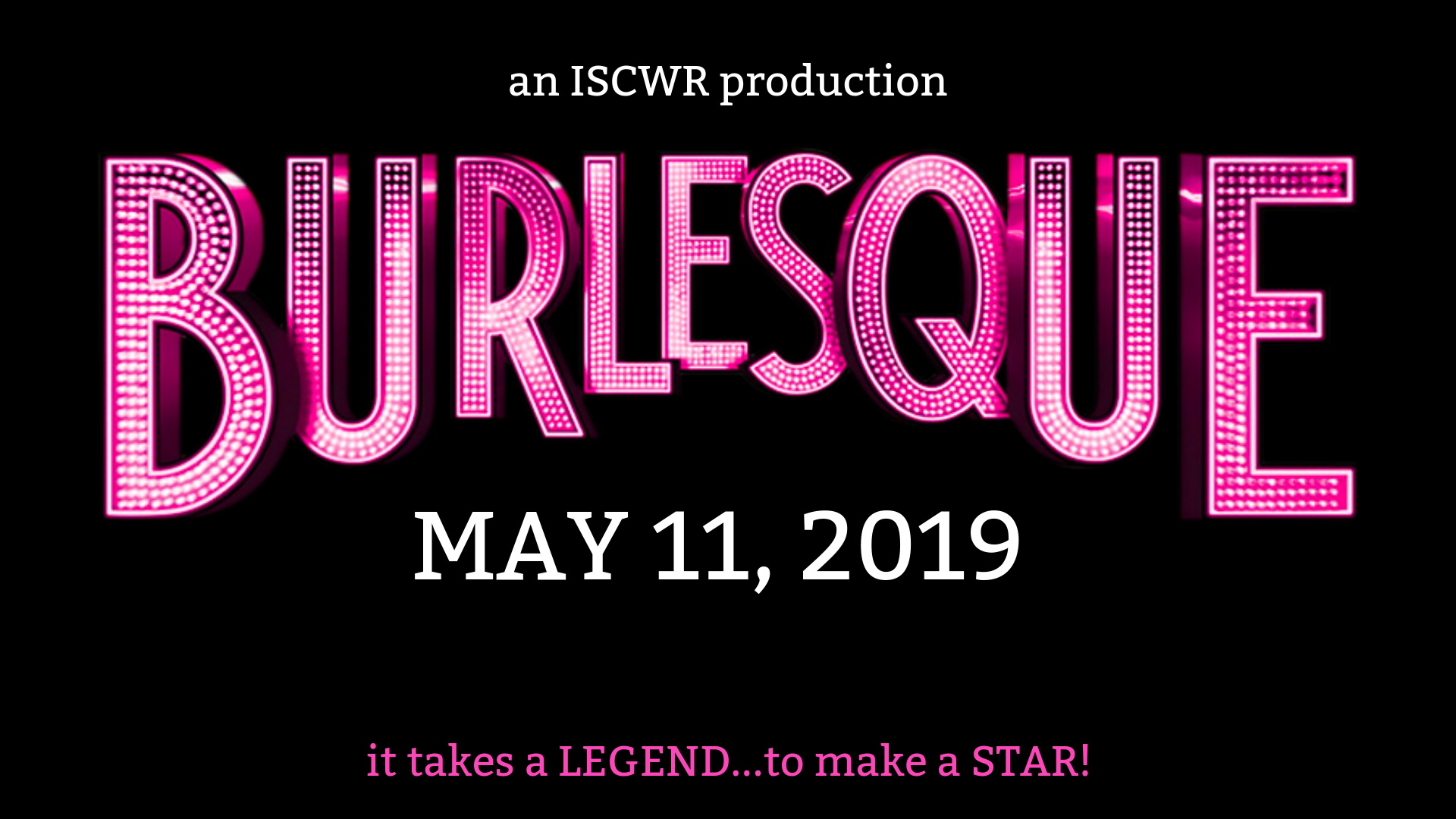 Burlesque! (Edmonton, Sat May 11, 7:30PM)