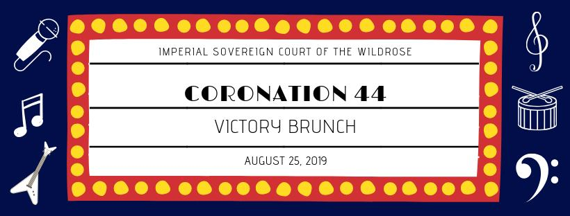 Coronation 44-Victory Brunch (Edmonton, Sun Aug 25, 10:30AM)