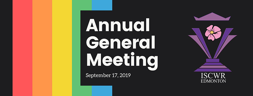 Annual General Meeting (Edmonton, Tue Sep 17, 7:00PM)