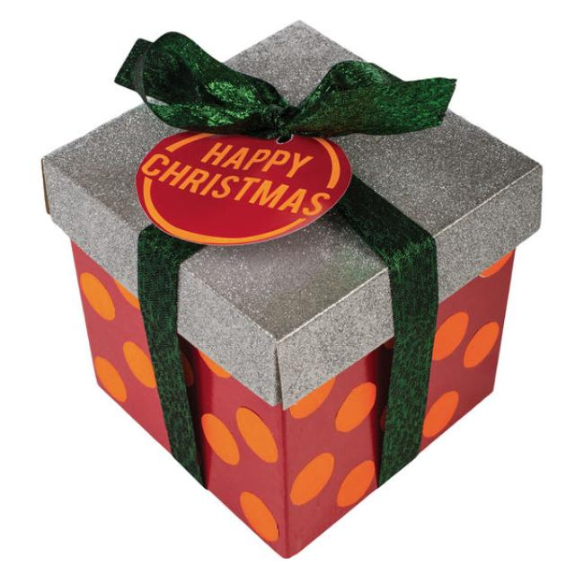 Happy christmas gift lush soap