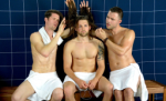 NSFW - Steam Room Stories: Hot guys with long hair